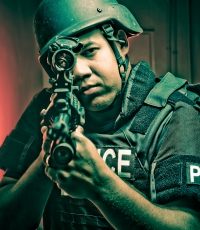 Police-Aventura-South-Florida-Campaign-Commercial-Photography-swat-rifle-1836