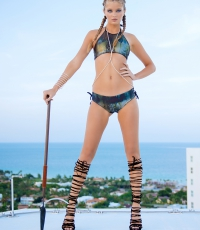Beach-Society-Bikini-girl-sexy-roof-top-aventura-Miami-9237